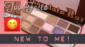 Rhubarb and Burble YouTube video: Too Faced Chocolate Bar Palette